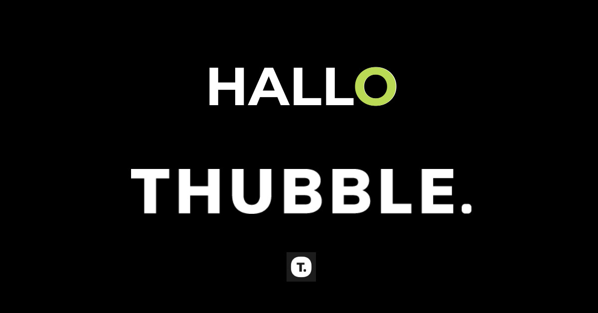 Logo Thubble
